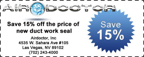 Save 15% on New Duct Work Seal