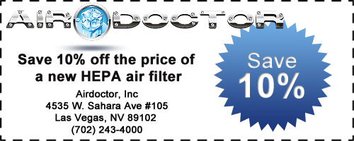 Save 10% on a New HEPA Air Filter